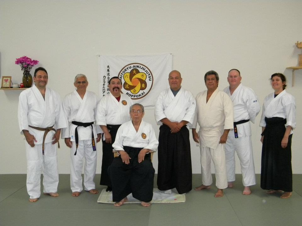 Texas Roppokai Group at Fremont CA Seminar (Sep 2011) - Dr. Aiki and Karen Sensei were Awarded Shodan (black belt) at the Seminar